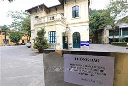 Các trường học ở Hà Nội chủ động triển khai phòng, chống dịch COVID-19