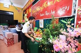 Quân và dân đảo Sinh Tồn thi đua lập thành tích chào mừng Đại hội Đảng