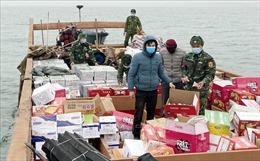 Bộ đội Biên phòng Quảng Ninh phát hiện vụ vận chuyển lượng lớn hàng hóa nhập lậu