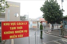 Trường tiểu học Xuân Phương trở thành nơi cách ly các ca F1