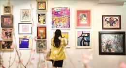 167 tác phẩm tại triển lãm mỹ thuật 'Mừng Đảng, mừng Xuân Tân Sửu'