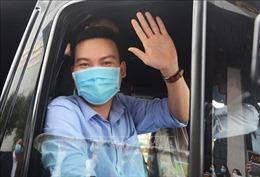 Đoàn y tế Đà Nẵng lên đường 'tiếp viện' Gia Lai phòng, chống dịch COVID-19