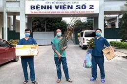 Không khí đón Tết của các y, bác sỹ Bệnh viện dã chiến số 2 Quảng Ninh