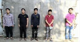 Bắt 5 đối tượng 'chống người thi hành công vụ' để giật lại hàng hóa lậu