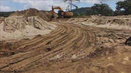 Thanh tra Chính phủ: Còn tình trạng mất an ninh trật tự ở các mỏ khai thác cát tại Hòa Bình