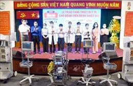 Trao tặng thiết bị y tế trị giá 6,5 tỷ đồng cho BV Bệnh Nhiệt đới TP Hồ Chí Minh