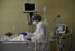 Ukraine trải qua ngày có số ca tử vong cao nhất do COVID-19
