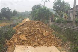 Thanh Hóa: Tăng cường quản lý việc khai thác, vận chuyển tài nguyên đất đai, khoáng sản