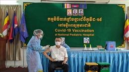 Tiêm chủng vaccine ngừa COVID-19 cho các cơ quan ngoại giao nước ngoài tại Campuchia
