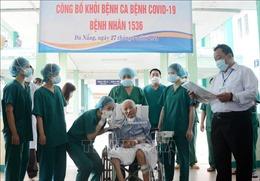 Bệnh viện Phổi Đà Nẵng công bố khỏi COVID-19 cho bệnh nhân 1536
