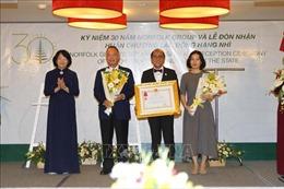 Phó Chủ tịch nước trao Huân chương Lao động hạng Nhì cho Tập đoàn Norfolk