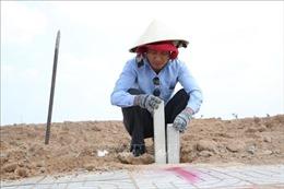 Chính thức cắm mốc đất tại Khu tái định cư sân bay Long Thành