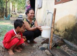 Người dân xã đặc biệt khó khăn Suối Trai đã có nước sạch