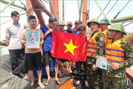 Biên phòng Quảng Bình sát cánh cùng ngư dân bám biển