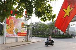 Hà Nội: Tuyên truyền, cổ động chào mừng bầu cử đại biểu Quốc hội khóa XV
