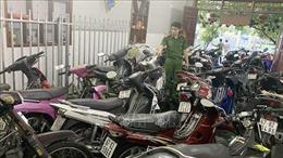 Phát hiện hàng trăm xe máy không giấy tờ trong cơ sở cầm đồ