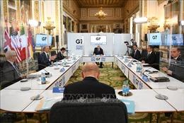 G7 tái khẳng định cam kết giải quyết vấn đề Syria bằng biện pháp chính trị