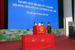 Cần Thơ: 8 tổ bầu cử thuộc lực lượng vũ trang tham gia bầu cử sớm