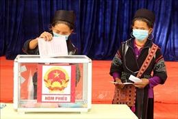 Nhiều huyện vùng cao đã hoàn thành công tác bầu cử