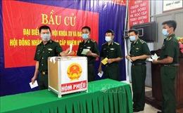 Đến 19 giờ ngày 23/5, Quảng Bình đạt 97,96% cử tri đi bỏ phiếu