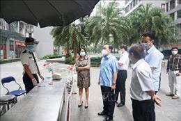 Sớm trả kết quả xét nghiệm, không để sót F1 tại Khu đô thị Times City, Hà Nội