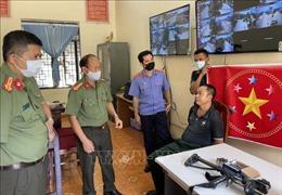 Sơn La: Bắt giữ đối tượng tàng trữ trái phép vũ khí