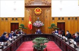 Thủ tướng Phạm Minh Chính tiếp Chủ tịch COP26