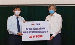 Quản lý, tiếp nhận kinh phí ủng hộ Quỹ vaccine phòng COVID-19