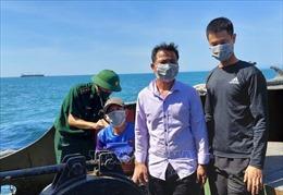Tàu cá bị đâm chìm, ba ngư dân được cứu