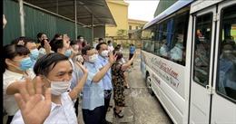 Tuyên Quang cử 22 cán bộ y tế hỗ trợ Bắc Giang phòng, chống dịch COVID-19