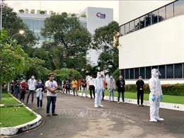 TP Hồ Chí Minh: Tăng cường tầm soát dịch COVID-19 trong công nhân lao động