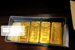 Giá vàng thế giới giảm tới 2,3% trong phiên 3/6