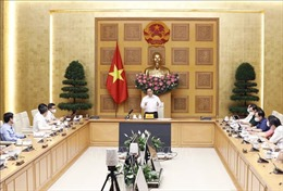Thủ tướng: Tạo mọi điều kiện để sớm sản xuất được vaccine phòng COVID-19 ở trong nước