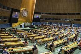 Iran khôi phục quyền bỏ phiếu tại LHQ