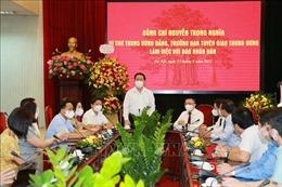 Đồng chí Nguyễn Trọng Nghĩa chúc mừng các cơ quan báo chí Trung ương