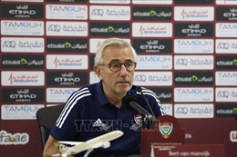 HLV của UAE nhận định trận gặp Việt Nam là trận đấu hay nhất