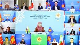 Hội nghị trực tuyến SOM ASEAN+3: Nghiên cứu, phát triển và tiếp cận vaccine ngừa COVID-19