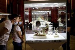 Nga: Bảo tàng kim hoàn Faberge thu hút khách mùa EURO