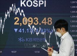 Thị trường chứng khoán châu Á phần lớn giảm điểm phiên 16/7