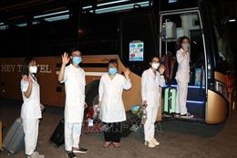 Trường Đại học Kỹ thuật Y tế Hải Dương chi viện nhân lực giúp TP Hồ Chí Minh chống dịch