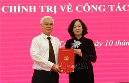 Ông Nguyễn Văn Lợi được điều động, chỉ định giữ chức Bí thư Tỉnh ủy Bình Dương
