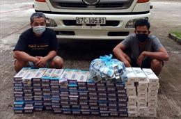 Liên tiếp bắt giữ các vụ buôn lậu thuốc lá ở biên giới Kiên Giang