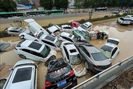 Lũ lụt kinh hoàng gây thiệt hại nặng nề cho tỉnh Hà Nam (Trung Quốc)
