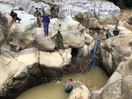 Vụ sạt lở Thủy điện Rào Trăng 3: Dốc toàn lực tìm kiếm các nạn nhân