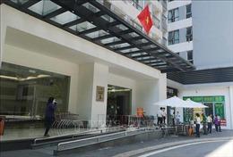 Cư dân tòa nhà Zone B Park 5-Vinhomes Times city tạm thời không rời khỏi nơi cư trú