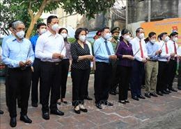 Dâng hương tưởng niệm 100 năm Ngày sinh Chủ tịch Quốc hội Lê Quang Đạo