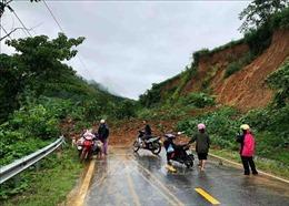 Thông xe các tuyến đường bị sạt lở ở Lai Châu