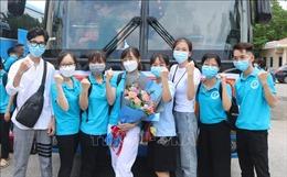 Các đoàn tình nguyện tự tin lên đường hỗ trợ miền Nam chống dịch COVID-19