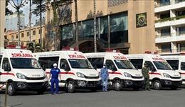 TP Hồ Chí Minh tiếp nhận nhiều vật tư, phương tiện y tế phòng chống dịch