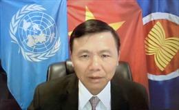 Phái đoàn Việt Nam tại Liên hợp quốc kỷ niệm Quốc khánh 2/9 trực tuyến